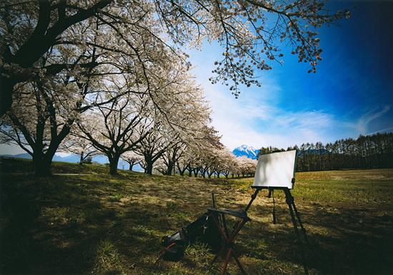 「春を描く」三澤 久(山梨県)