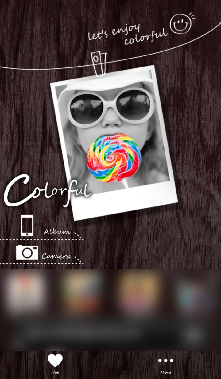 一部分だけカラーのモノクロ写真が作れるアプリ Colorful カラフル